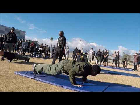 Police Physical Fitness Testing. LVMPD