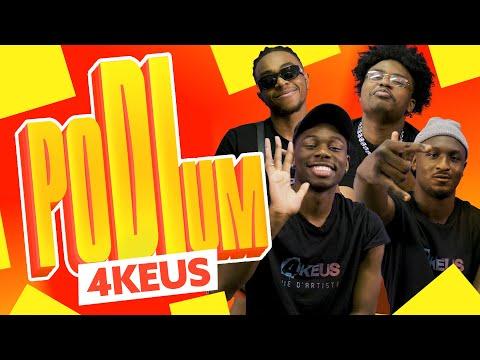 4Keus : Top 3 des feats de rêves, des sportifs, des rappeurs français | Podium