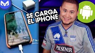 CUALQUIER ANDROID SE CARGA EL iPhone!!!!!!! EXPLICACION