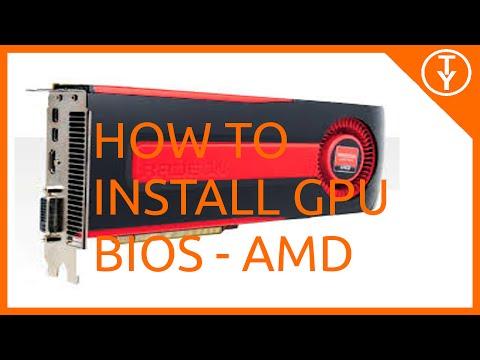 How to install Bios on an AMD GPU