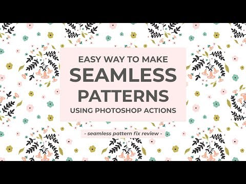 SPF Seamless Patterns Made Easy Actions Creative Market Adorable How To Make A Seamless Pattern In Photoshop