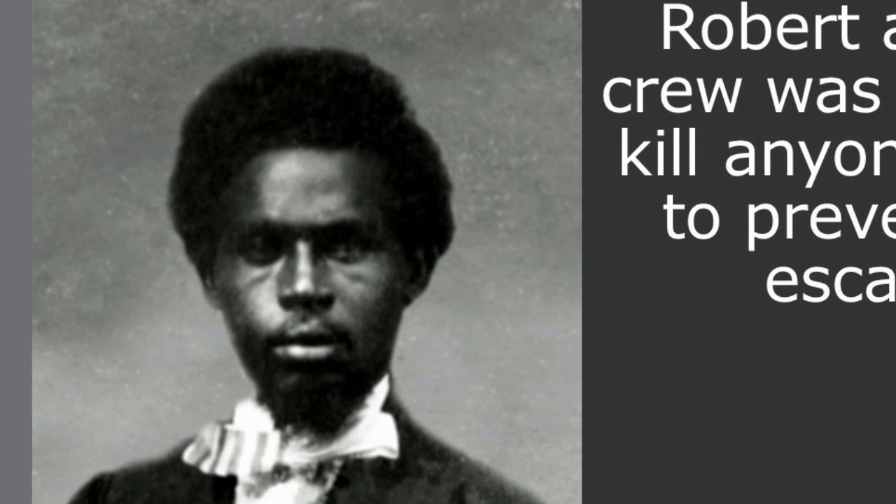 Robert Smalls escape or die trying. (Another forgotten black hero part 1)