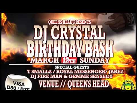 Dj Crystal Njie Birthday Bash 2017