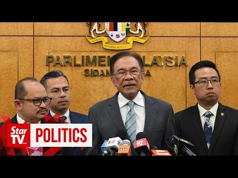 Anwar on sexual assault claim: Politics at its worst