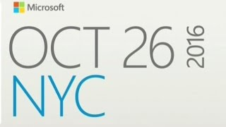 Surface Studio!!! 2016 Windows 10 Event LIVE stream and reactions with Sean Ong | October 26