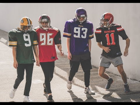 The Vamps Versus The NFL - Behind The Scenes