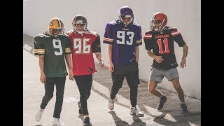 The Vamps Versus The NFL - Behind The Scenes