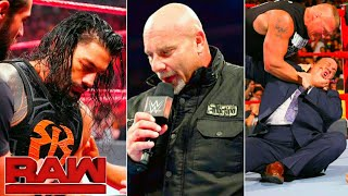 WWE Monday Night Raw, June 10, 2019 Highlights ! Brock Attack Heyman ! Roman Reigns Results Winners