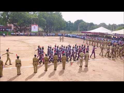 Government College - Autonomous- NCC Parade