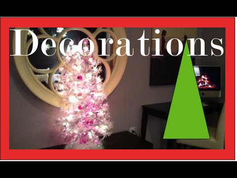 Christmas Decorations and Decorating a girls bedroom for ...