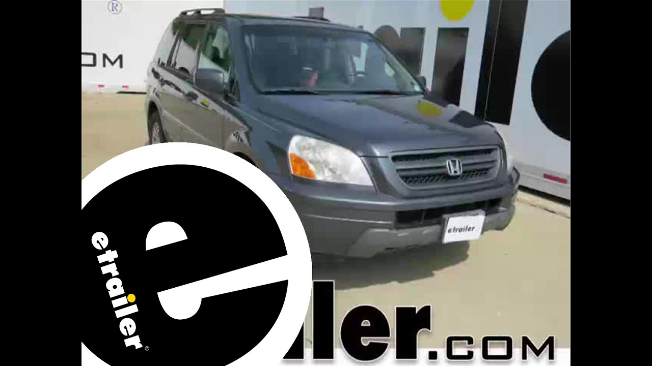 hight resolution of trailer wiring harness installation 2005 honda pilot etrailer com