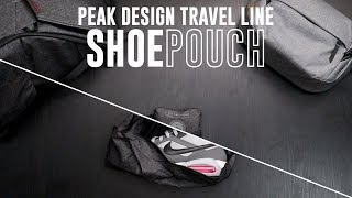 Peak Design Shoe Pouch (Travel Line) - Carry your shoes or just tuck it away