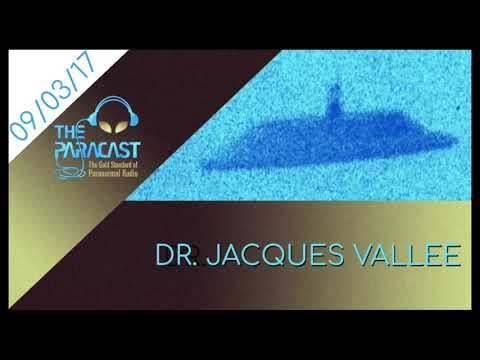 September 3, 2017 — Dr. Jacques Vallee