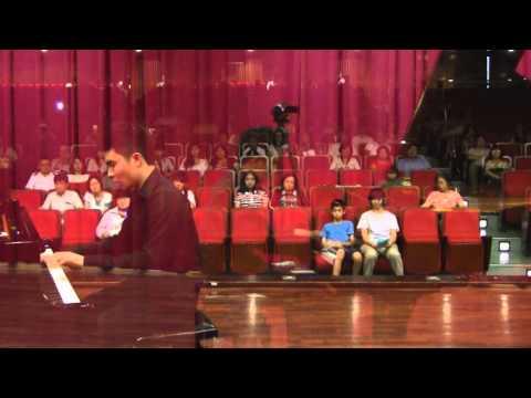 Christopher Luan Piano Recital: Japanese Anime at Taichung DaDun Cultural Center