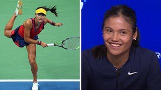 video: 'Absolutely staggering': Tennis greats blown away by Emma Raducanu's win in US Open semi-final