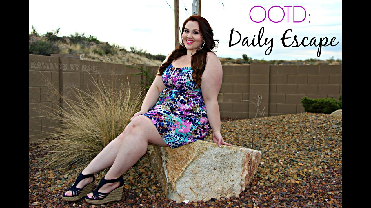 Plus Size Ootd Daily Escape - Youtube-3746