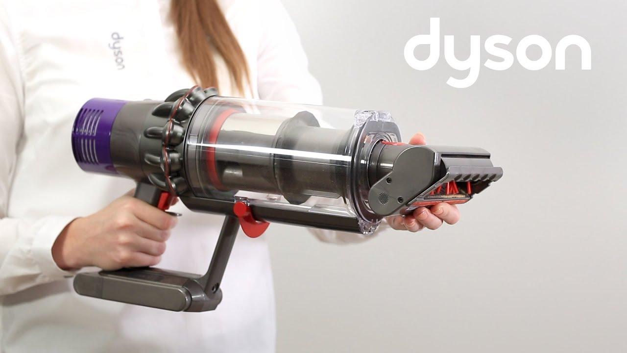 aspirateurs sans fil dyson cyclone v10 utilisation des accessoires fr youtube