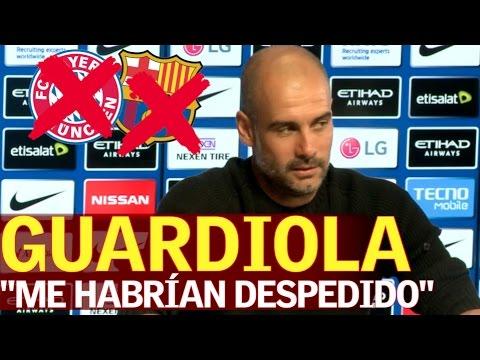 Guardiola: En el Barça o el Bayern me habían despedido | Diario AS