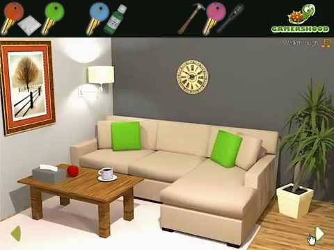 Nordic Living Room Escape Video Walkthrough