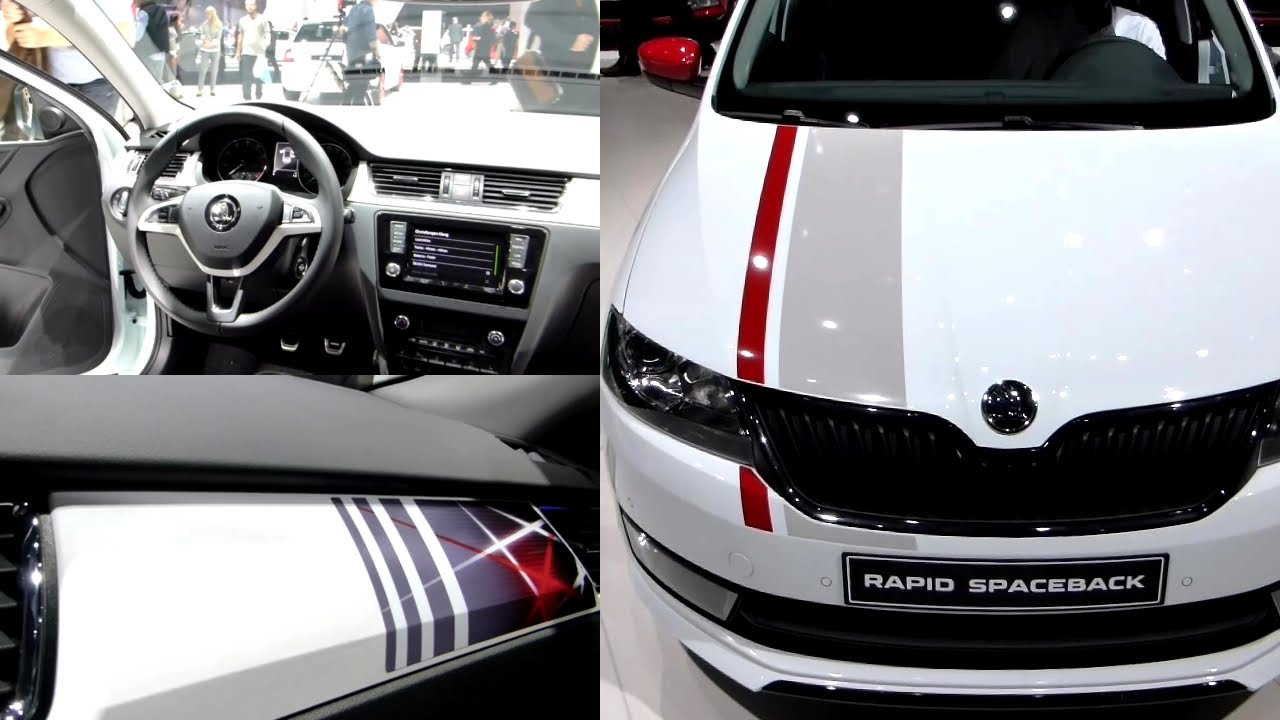 2016 SKODA RAPID SPACEBACK 1.2 Exterieur & Interieur in Detail IAA ...