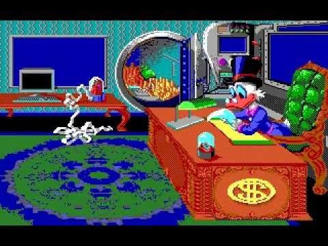 Disney's Duck Tales: The Quest for Gold (Incredible Technologies) (MS-DOS) [1990]