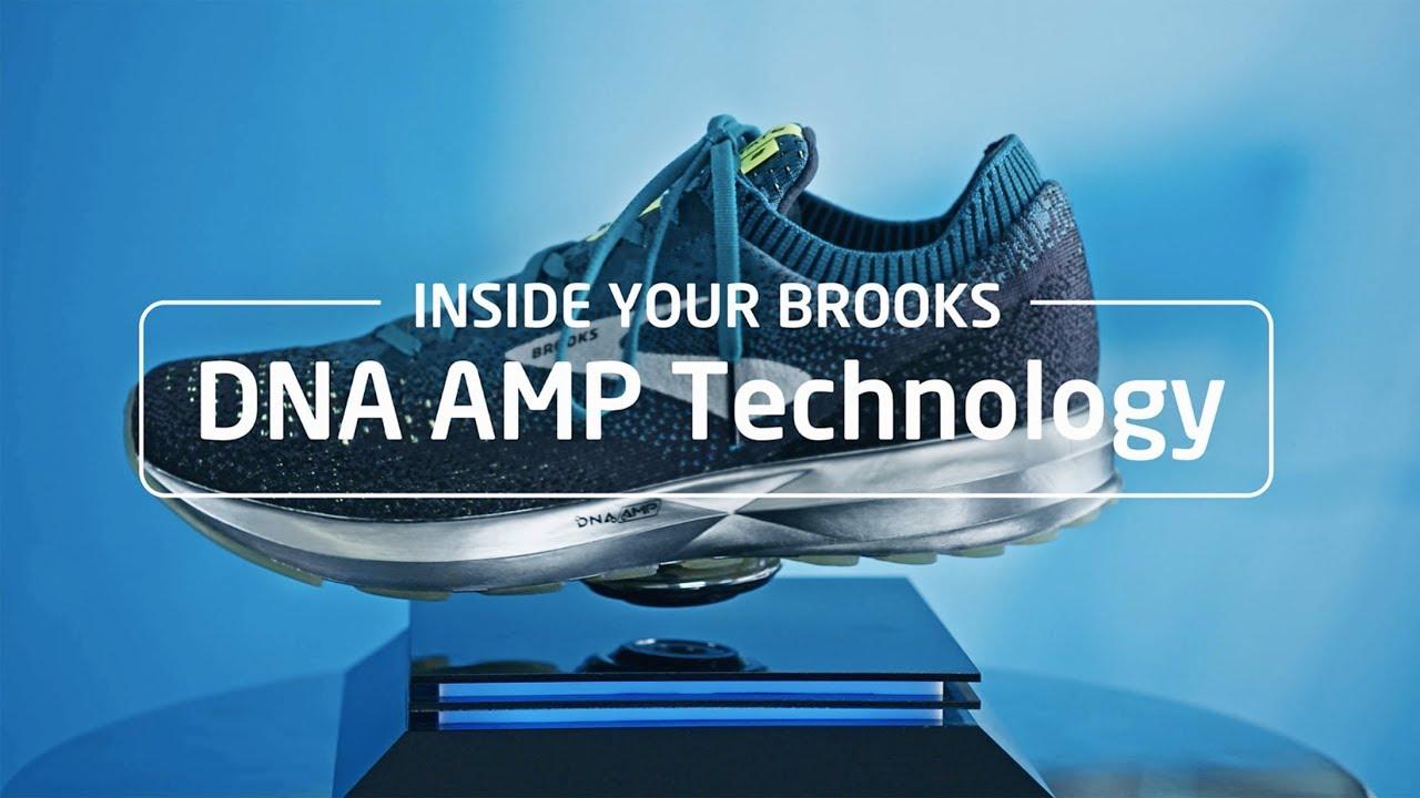 Brooks Running technology: DNA AMP
