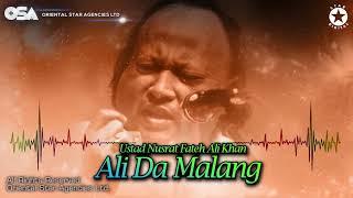 Ali Da Malang | Nusrat Fateh Ali Khan | complete full version | official HD video | OSA Worldwide