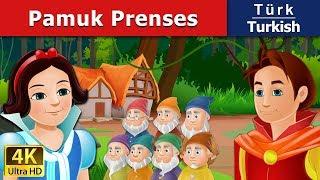 Pamuk Prenses ve Yedi Cüceler - Peri Masalları - 4K - Turkish Fairy Tales - türkçe peri masalları