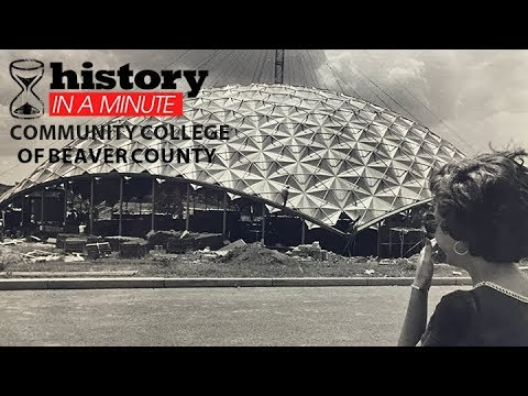 History in a Minute: Community College of Beaver County