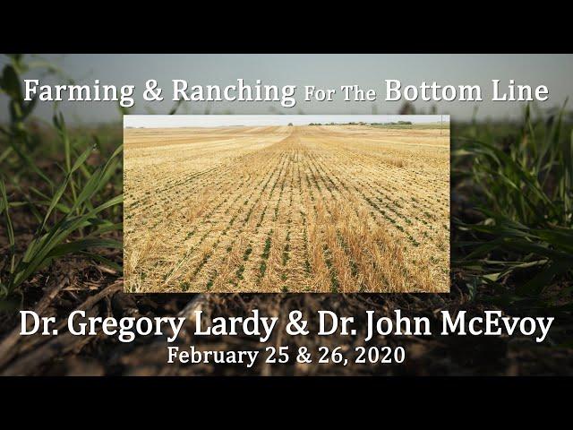 Dr  Gregory Lardy & Dr  John McEvoy BSC Feb 2020
