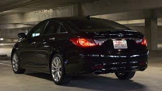 Hyundai Sonata SE 275 hp test drive Хюндай Соната 275л.с. тест драйв