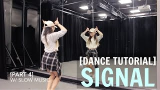"TWICE(트와이스) ""SIGNAL"" Lisa Rhee Dance Tutorial"