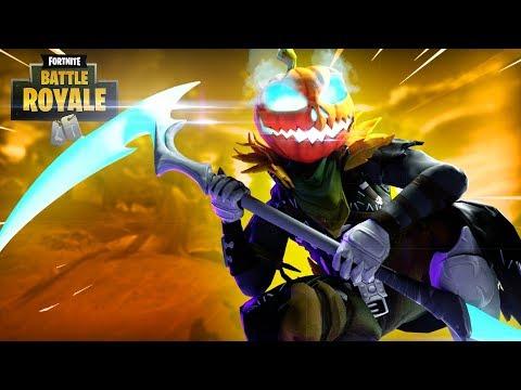 NEW Hollowhead Pumpkin Skin!!  Fortnite Battle Royale Gameplay  Ninja