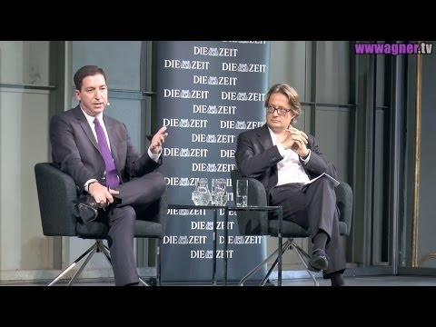 Glenn Greenwald in Berlin: Talk with DIE ZEIT