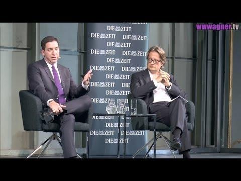 Glenn Greenwald in Berlin: Talk with DIE ZEIT