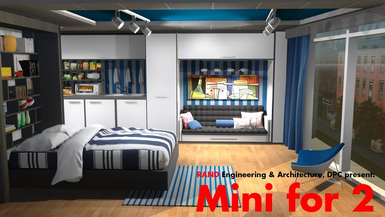 Mini Apartments To Maximize Housing Youtube