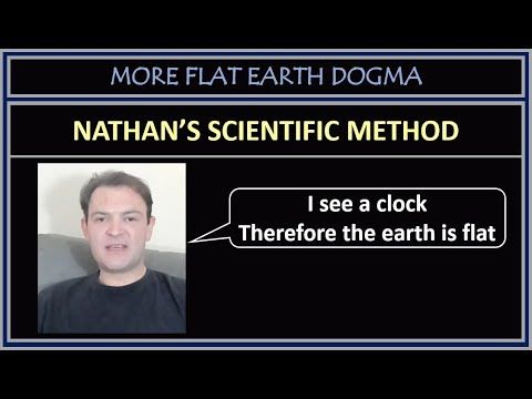 """Nathan Oakley""""s """"Scientific Evidence"""" of a Flat Earth thumbnail"""