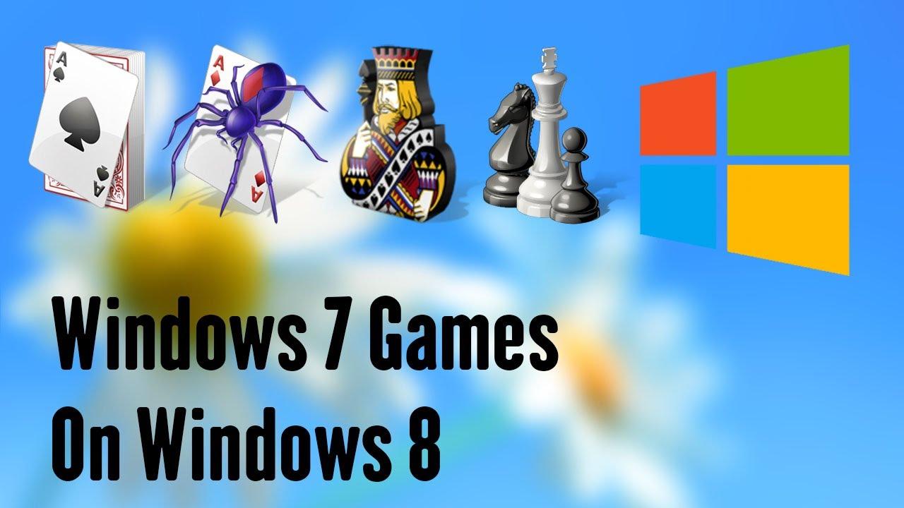 Get Windows 7 Games In Windows 8 Youtube