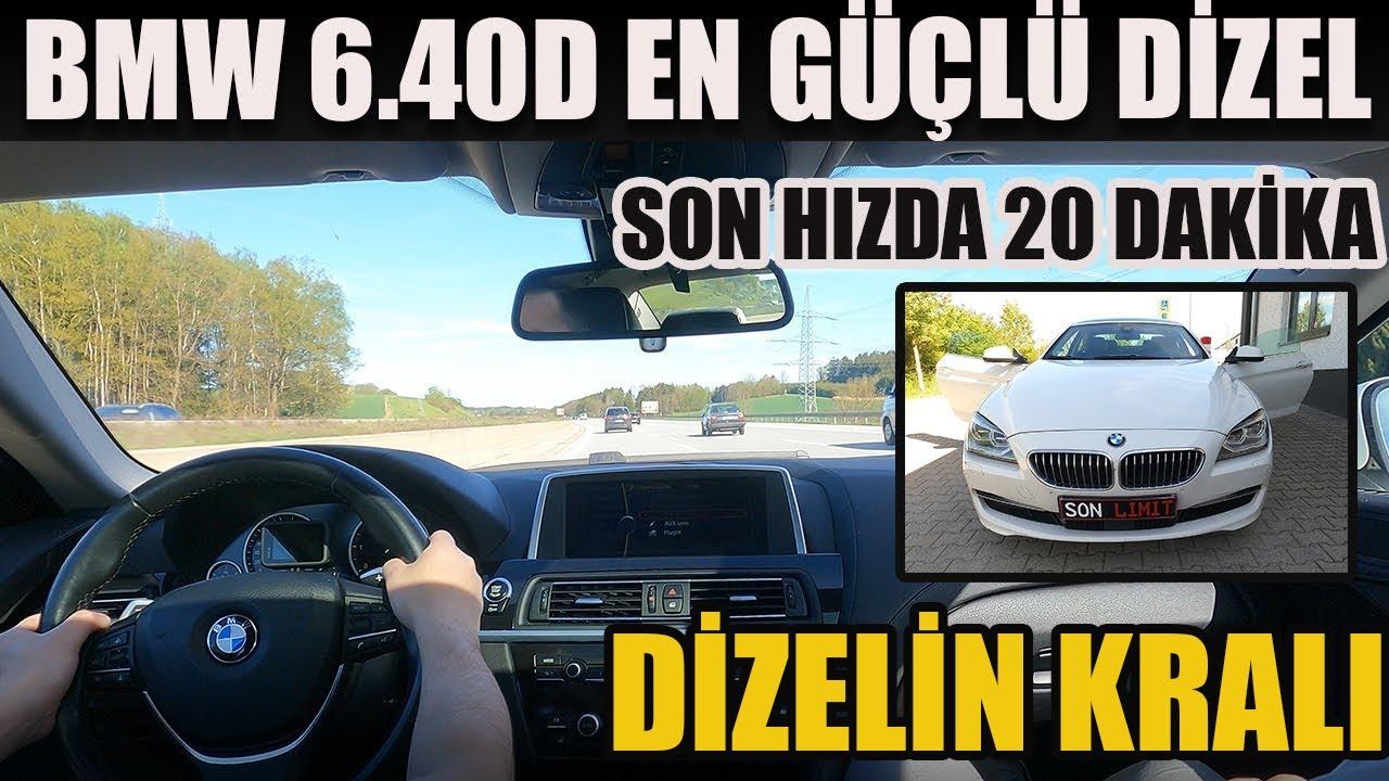 20 Dakika Son Hızda Araba Sürmek | 2012 BMW 6 Serisi Gran Coupe (F06) 640d Test Sürüşü & İnceleme