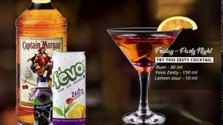 Fevo Zesty  Rum cocktail