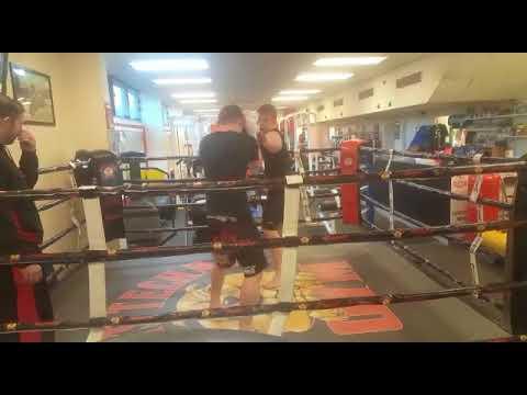 Jack Lowe Boxing round 2
