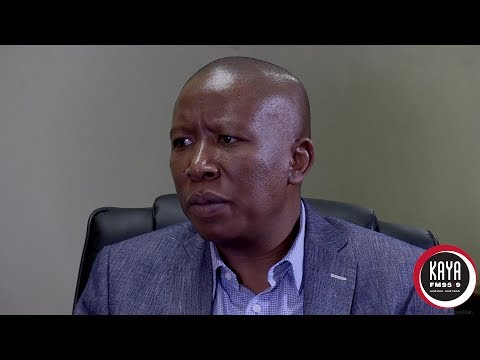 EFF 4TH Year Anniversary Interview with Commander In Chief Julius Malema