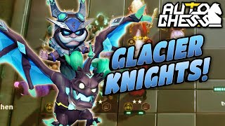 Bullying Chat with a STACKED Glacier Knight Build! 🤣 | Auto Chess Mobile | Zath Auto Chess 206