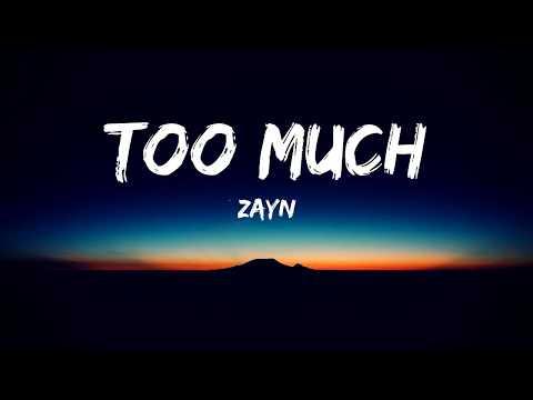 ZAYN ‒ Too Much (Lyrics Video) ft. Timbaland