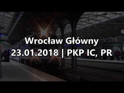 Wrocław Główny 23.01.2018 | PKP IC, POLREGIO
