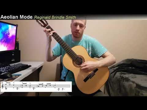 Reginald Smith Brindle - Aeolian Mode (RCM Prep Book W/Score)