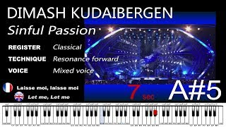 Unbelievable Dimash Kudaibergen SINFUL PASSION Sochi Analysis