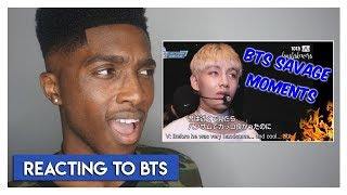 BTS - Savage Moments Reaction! | Jayden Reacts