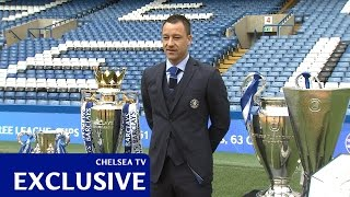 Chelsea: Terry signs new deal