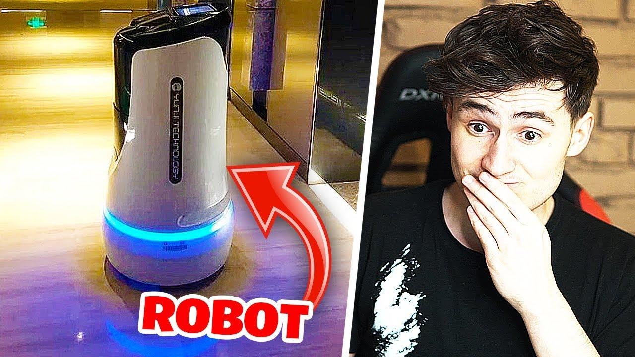 ROBOTICKÝ ČÍSNÍK PŘEBRAL PRÁCI V HOTELU!